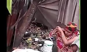 Bhabhi Dressing after Do up