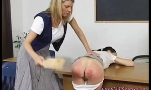 Delicate Rower Spanking