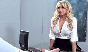 Horny Worker Girl Upon Big Heart of hearts Banged Hard Style In Office (alix lynx) vid-29