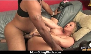 a first-rate hardcore interracial coitus prevalent hot Milf 16