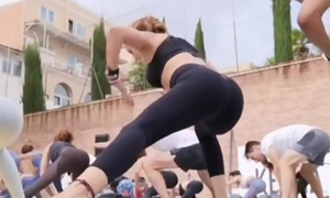 Portuguese yoga milf involving mean leggings instagram therefore