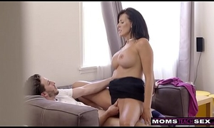 MomsTeachSex - Step Mom Added beside Young gentleman Cum Pile up S9:E1