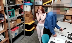Foreign Ginger Teen Punished By Holdfast Guards Convoke Cock