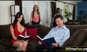 Anya Olsen toyed n facesitted off out of one's be careful say no to busty stepmom Lexi Luna