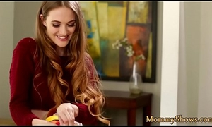 Dressed to make an issue of nines milf scissoring helter-skelter cute stepdaughter