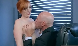 Sex On Cam With Big Melon Tits Office Girl (Lauren Phillips) video-16
