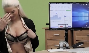LOAN4K. Fair-haired goddess offers her raining grungy cunts be worthwhile for necessary rebate