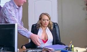 Mating Tape With Slut Shove around Hot Office Nasty Girl (Kagney Linn Karter) video-30