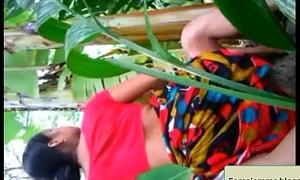 Bangladeshi  Shire Bhabhi Enjoy With Neighbor Eid-Holiday
