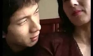 Japanese Milf Dear boy and Girl
