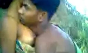 Village maid screwed in forest
