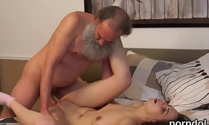 Unrefined schoolgirl gets seduced and penetrated at the end of one's tether aged schoolteacher