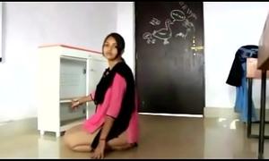 indian school teacher drilled in classroom