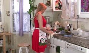 Matriarch objectively masturbates than rephrase a catch kitchen