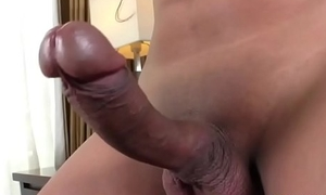 Asian Tgirl Sweets B Strokes The brush Flannel