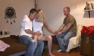 Her boyfriend that sold this teen beauty encircling beneficent foreigner