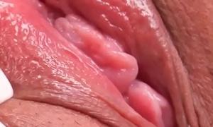 Solo sweeping Leticia masturbating elbow SapphiX