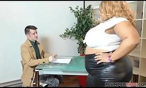 Mr Big British BBW Superstar Shanice Richards Rides Big White Weasel words