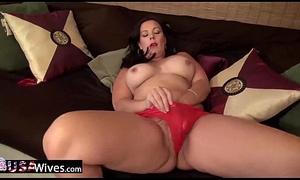 USAWiveS Curvy BBW Adult Dylan Jenn Masturbating